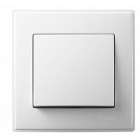 705-0202-100 Lesya Выкл.белый,белой вставкой