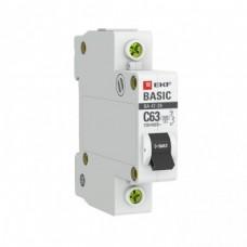 Авт.выключатель 1П 10А (С) 4,5кА ВА 47-29 EKF Basic