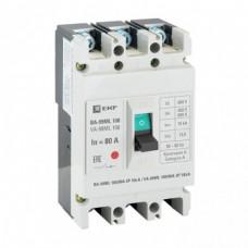 Авт.выключатель ВА-99ML 100/80А 3П 18кА EKF Basic