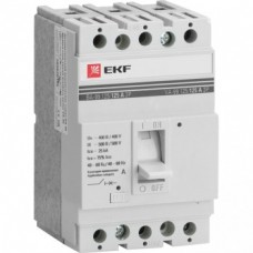 Авт.выключатель ВА-99 125/25А 3П 25кА EKF Proxima