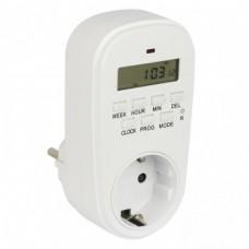 Розеточный электроныый выключатель таймер SAT-20p EKF PROxima