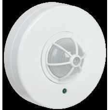 Датчик движения ДД 024 белый, макс. нагрузка 1100Вт, угол обзора 120-360гра. дальность 6м IP33 ИЭК (LDD11-024-1100-001)