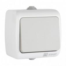 Мурманск Выключатель 1 -клавишный 10А IP54 серый EKF  EFV10-021-30-54