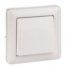 Выключатель С/У белый 1кл. Wessen VS16-133-B