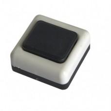 Кнопка звонка бел.корп.черн.БЕЛТИЗ А1-0,4-001