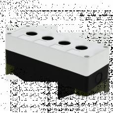 Корпус КП104 пластиковый 4 кнопки белый EKF PROxima CPB-104-W