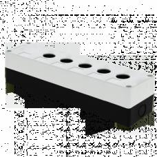 Корпус КП105 пластиковый 5 кнопок белый EKF PROxima CPB-105-W