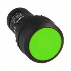 Кнопка SW2C-11 возвратная зеленая NO+NC PROxima