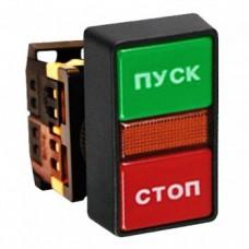 """Кнопка AS-22N """"Пуск-Стоп"""" прямоугольная 220В NO+NC EKF PROxima"""