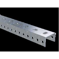 Профиль П-образный PSL длиной 600мм, толщиной 1,5 мм из горячеоцинкованной стали (BPL2905)