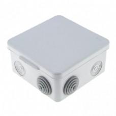 Коробка распаячная КМР 030-014 с крышкой наружная (105х105х50) 8 мембранных вводов IP54 EKF PROXIMA