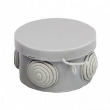 Коробка распаячная КМР 040-038 с крышкой наружная (65х40) 4 мембранных вводов IP54 EKF PROXIMA