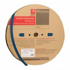 Термоусаживаемая трубка ТУТ 20/10 синия рулон EKF PROxima