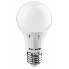 Лампа светодиодная 61 140 OLL-A60-10-230-6.5K-E27 грушевидная ОНЛАЙТ  61140