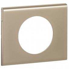 Celiane Рамка 1п (2м) никель велюр  069111
