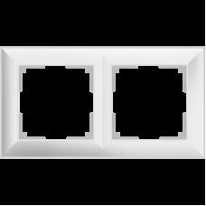 Рамка на 2 поста/WL14-Frame-02 (белый)