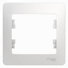 Рамка 1-постовая белая  GSL000101