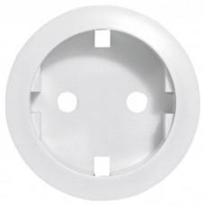 Celiane лицевая панель для розетки 2к+3 нем.ст.белый 068131