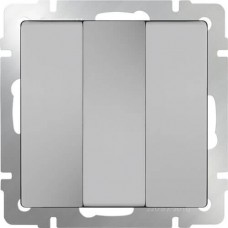 Выключатель трехклавишный WL06-SW-3G