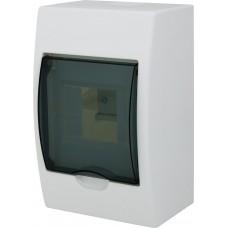 Бокс с прозрачной крышкой LUXRAY ЩРН-П-4 для внт.уст. 4-и модульных устройств LX731-2000-004