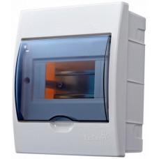 Бокс с прозрачной крышкой LUXRAY ЩРВ-П-4 для внт.уст. 4-и модульных устройств LX731-1000-004