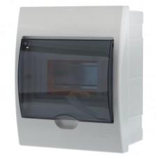 Бокс с прозрачной крышкой LUXRAY ЩРВ-П-6 для внт.уст. 6-модульных устройств LX731-1000-006