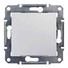 Переключатель перекрестный сх7. белый 1 кл. Sedna SDN0500121