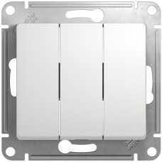 Выключатель 3кл. белый GSL000131