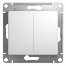 Выключатель белый 2кл. GSL000151