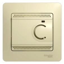 Термостат эл. для тепл. пола  в сборе бежевый GSL000238
