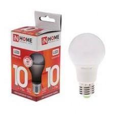 Лампа светодиодная LED-A60-VC 10Вт 230В Е27 4000К 900Лм 4690612020211