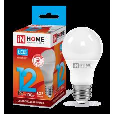 Лампа светодиодная LED-A60-VC 12Вт 230В Е27 4000К 1080Лм 4690612020242