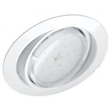 Светильник встраиваемый GX53R-RT-W металл под лампу GX53 230B поворотный белый  024363
